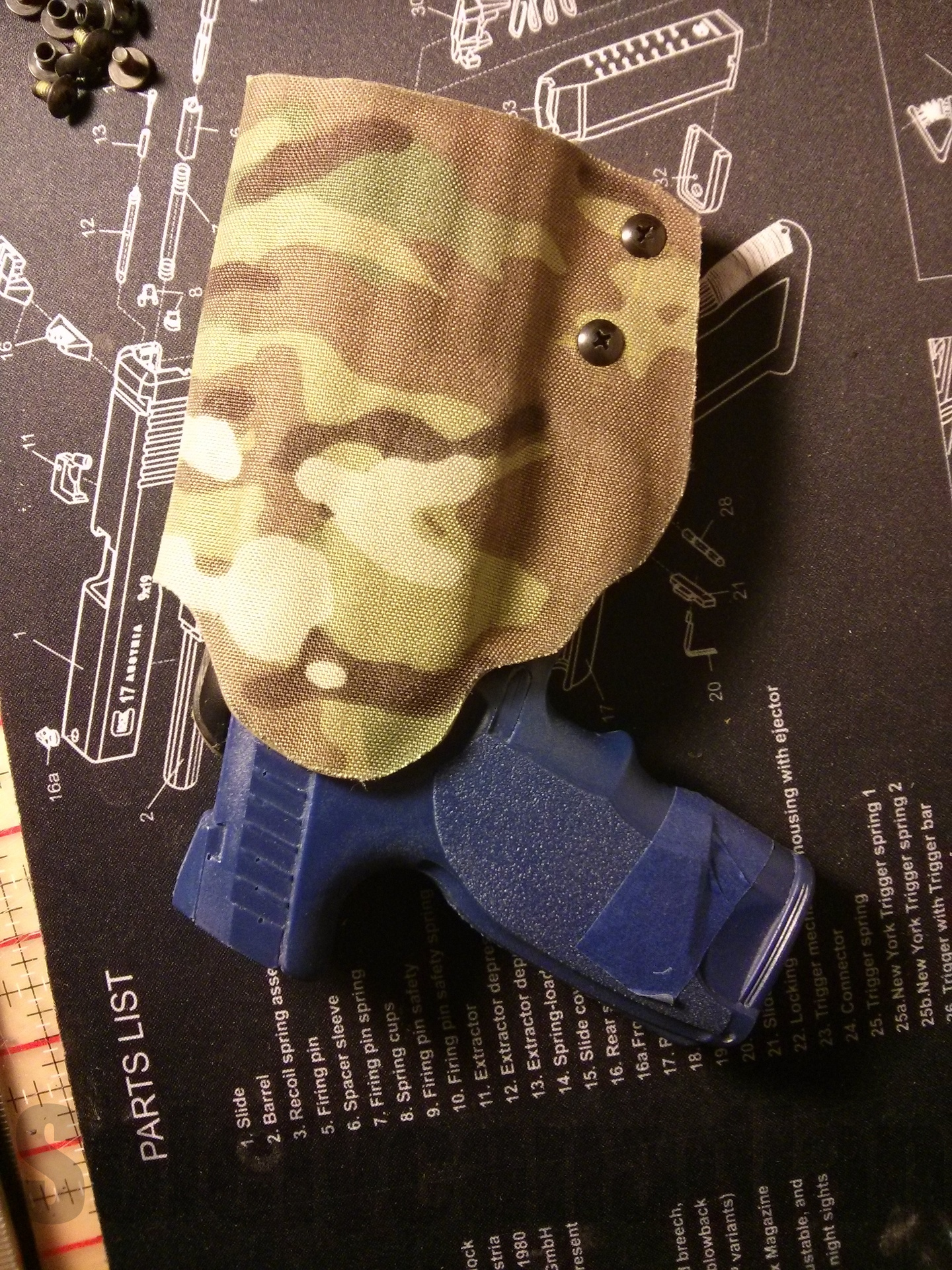 Solely Canadian - Suede/Fabric Holsters